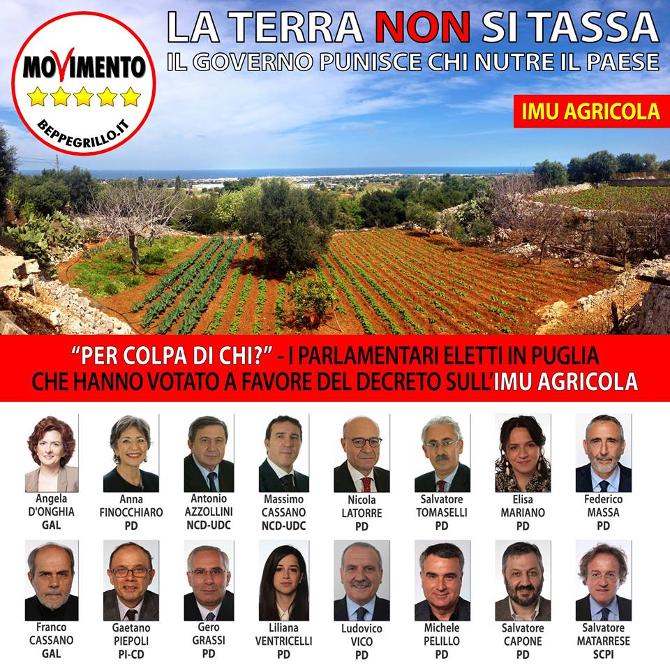 IMU Agricola: chi l'ha votata?
