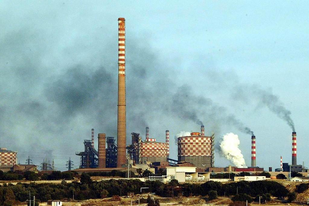 Lo stabilimento siderurgico                     RENATO INGENITO/ANSA