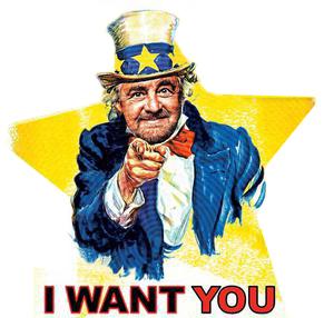"BANDI M5S PUGLIA: ""I WANT YOU"""