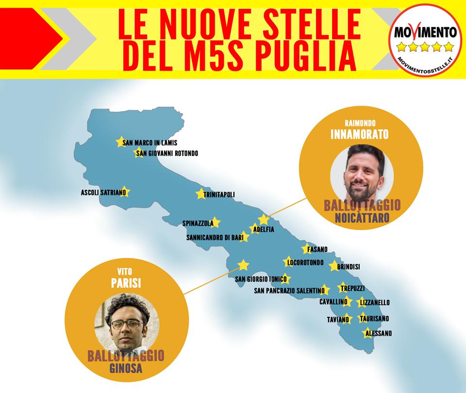 Elezioni M5S Puglia