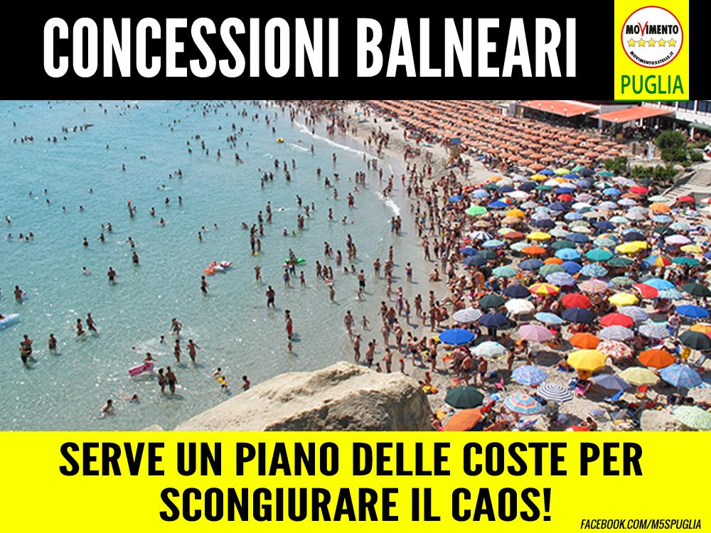 """Concessioni balneari. Casili (M5S): """"Serve un Piano delle coste per scongiurare il caos delle concessioni"""""""