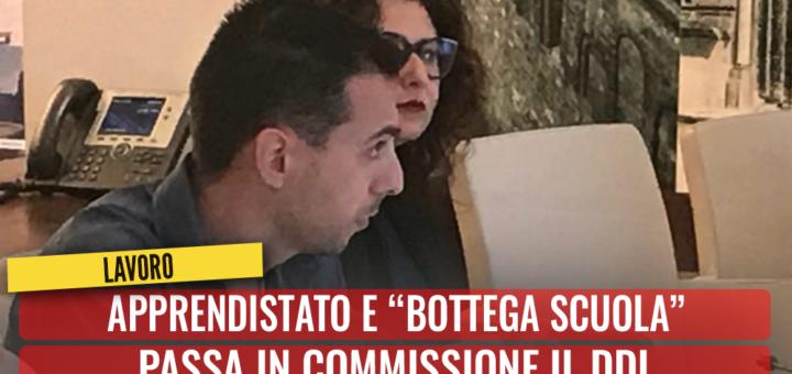 """Apprendistato e """"bottega scuola"""". Passa in Commissione il ddl. Bozzetti: Darà un contributo all'occupazione pugliese - M5S notizie m5stelle.com"""