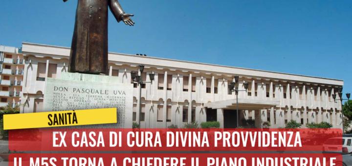 Ex casa di cura Divina Provvidenza, quale futuro per i lavoratori? M5S torna a chiedere il Piano industriale a Roma e Bari - M5S notizie m5stelle.com