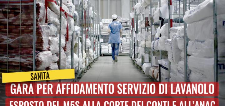 Sanità, esposto di Conca sulla gara per affidamento servizio di lavanolo: Va annullata, si potrebbero risparmiare fino a 45 mln - m5stelle.com - notizie m5s