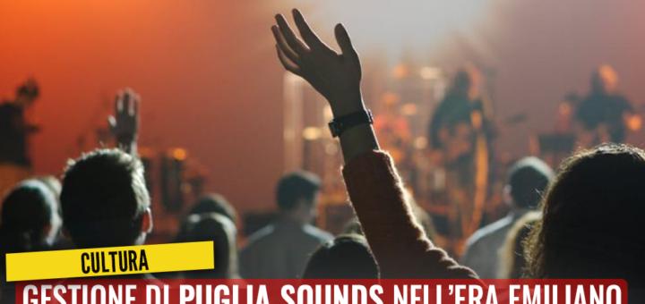 Gestione di Puglia Sounds nell'era Emiliano. M5S chiede chiarimenti - M5S notizie m5stelle.com