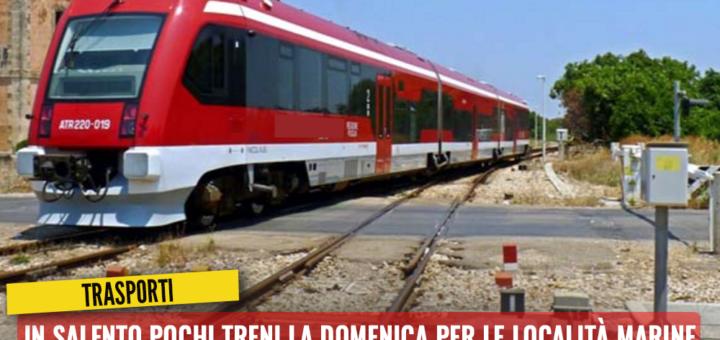 In Salento pochi treni la domenica per le località marine. Trevisi: Stanchi di rimpalli di responsabilità tra Regione e Ferrovie - M5S notizie m5stelle.com