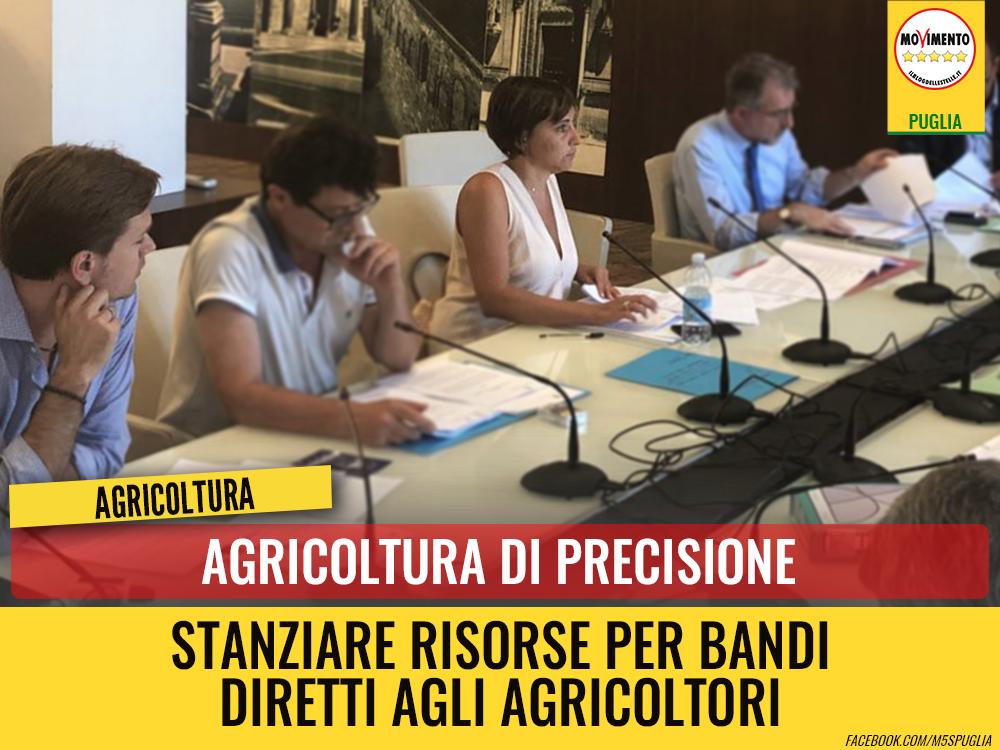 """Agricoltura di precisione. M5S: """"Votato contro la proposta perché chiediamo che risorse vengano destinate agli agricoltori"""""""