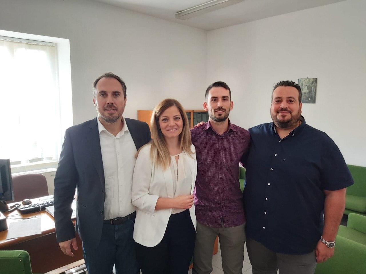 """Il M5S visita il centro per l'impiego di Martano: """"Rilancio dei CPI fondamentale per la riforma del mondo del lavoro"""""""