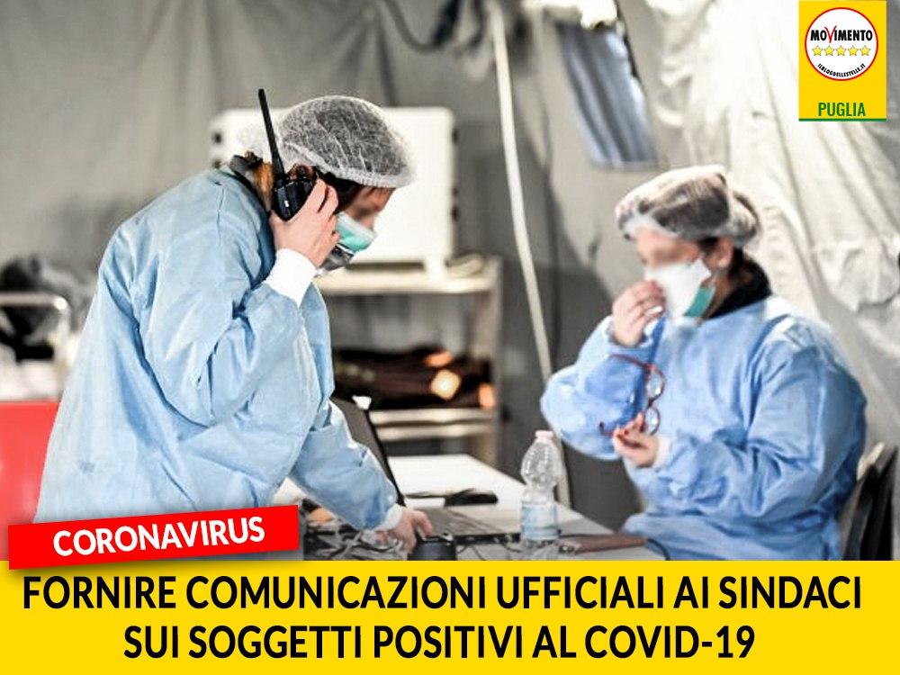 """Coronavirus. Bozzetti (M5S): """"Ai Sindaci devono essere fornite comunicazioni ufficiali sui soggetti positivi al Covid-19"""""""