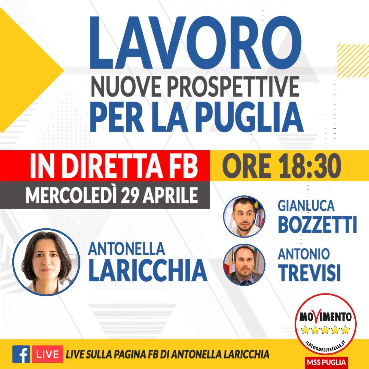 Lavoro: nuove prospettive per la Puglia