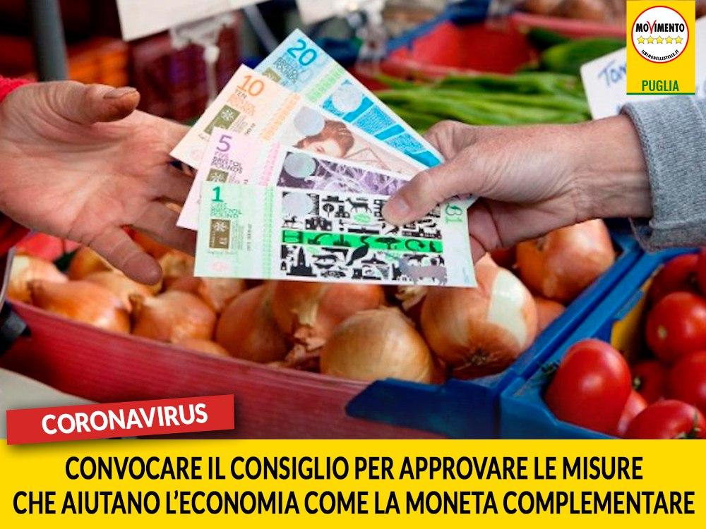 """Coronavirus. Trevisi (M5S): """"Convocare il Consiglio per approvare le misure che aiutano l'economia come la moneta complementare"""""""