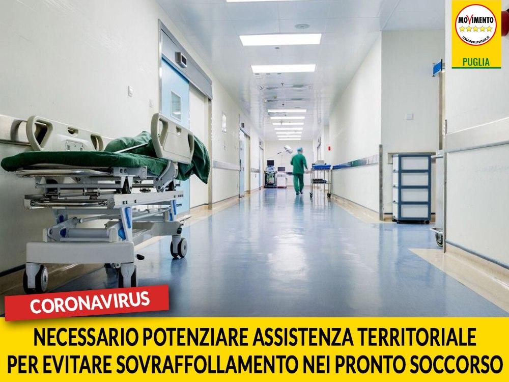 """Coronavirus. Trevisi (M5S): """"Necessario potenziare assistenza territoriale per evitare sovraffollamento nei pronto soccorso"""""""