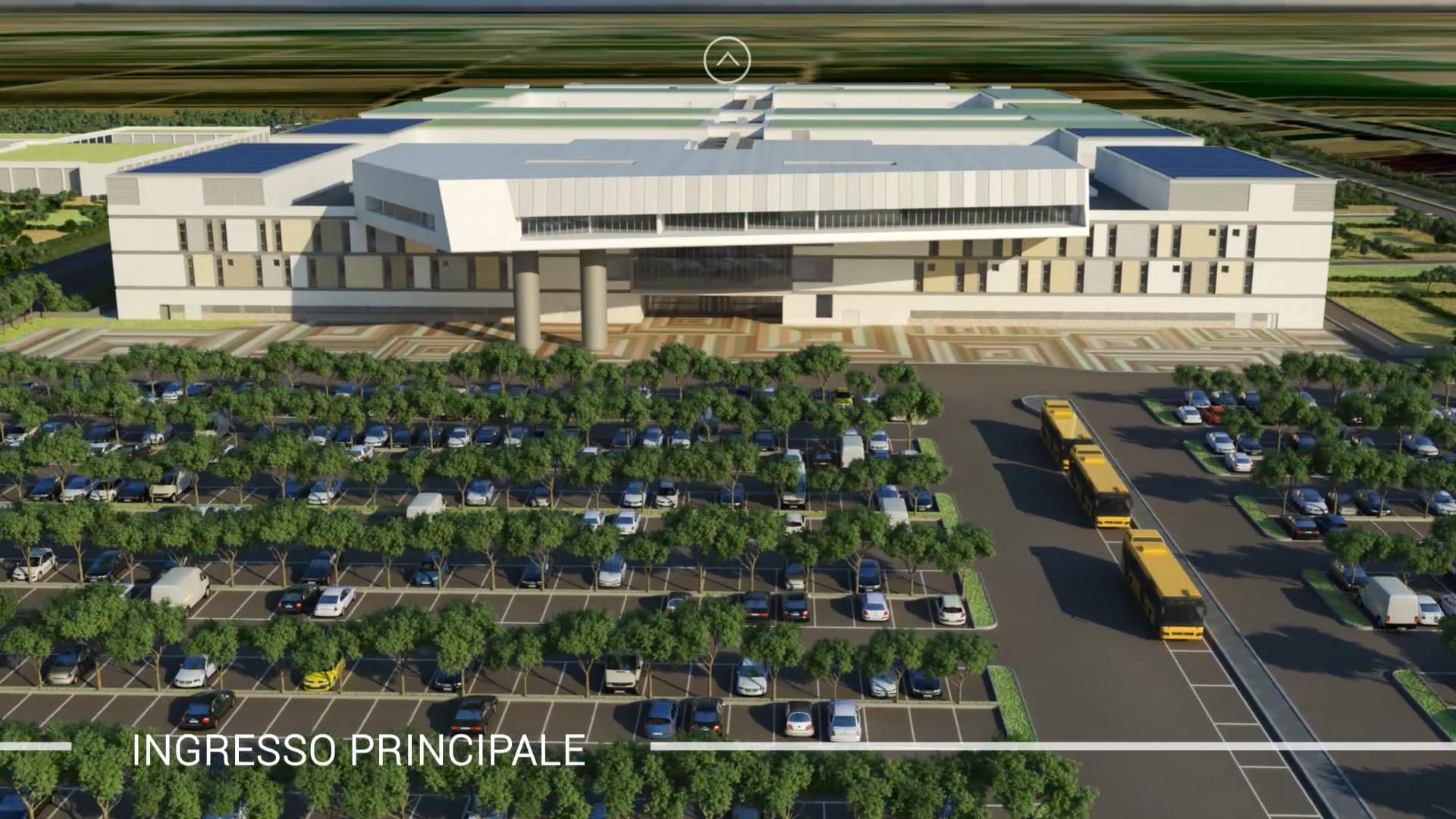 Taranto, ospedale San Cataldo. Galante (M5S): Urge una ricognizione puntuale con Invitalia