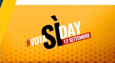 "++ Referendum: blog M5S, 12 settembre si terrà ""#VotaSìDay ++"