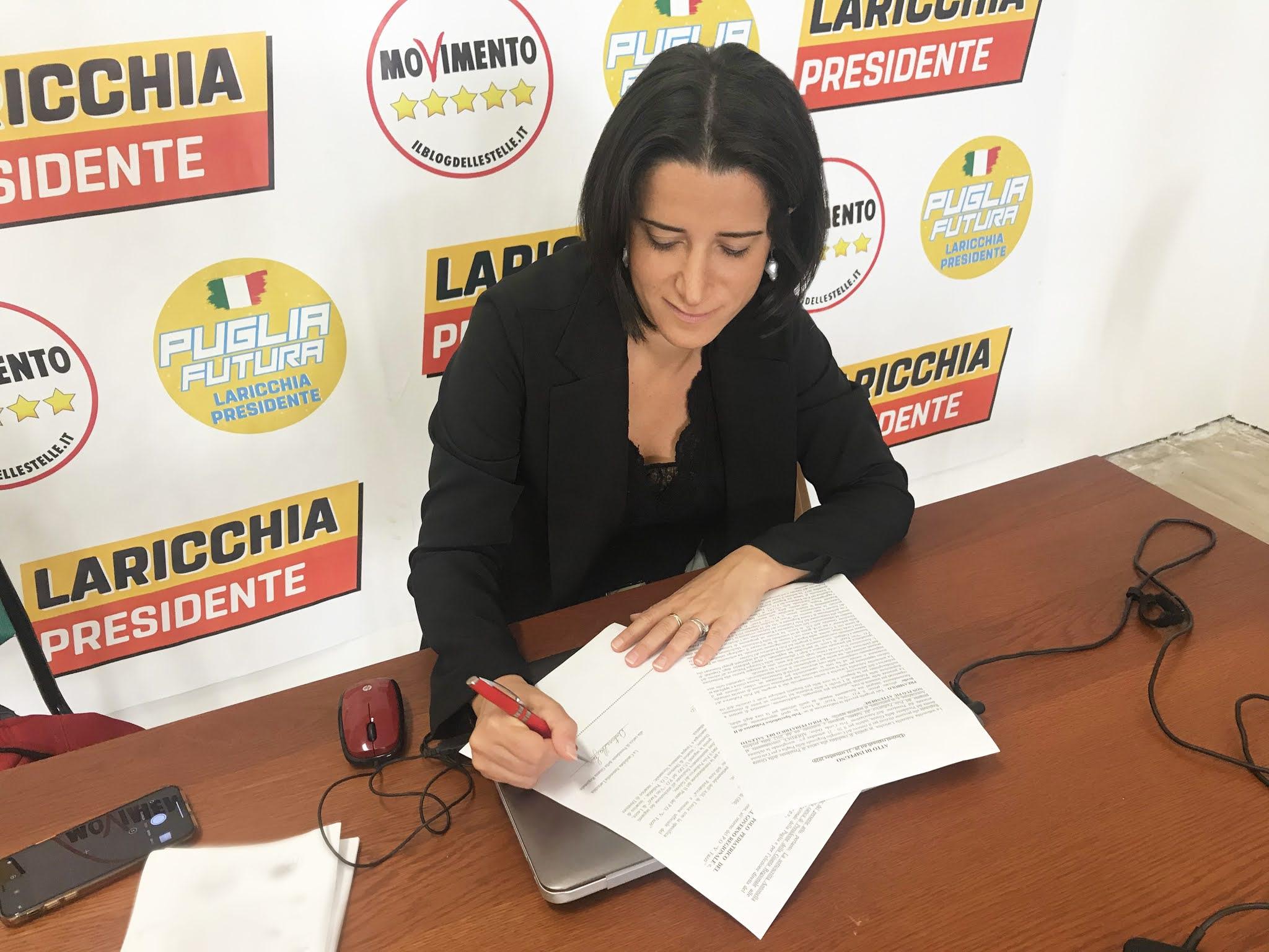 Polo Pediatrico del Salento. Laricchia sottoscrive l'impegno dell'associazione Tria Corda Onlus per attivarlo a un anno dall'insediamento